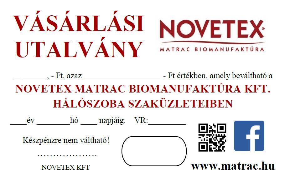 NOVETEX VÁSÁRLÁSI UTALVÁNY 4b3d3ca40a