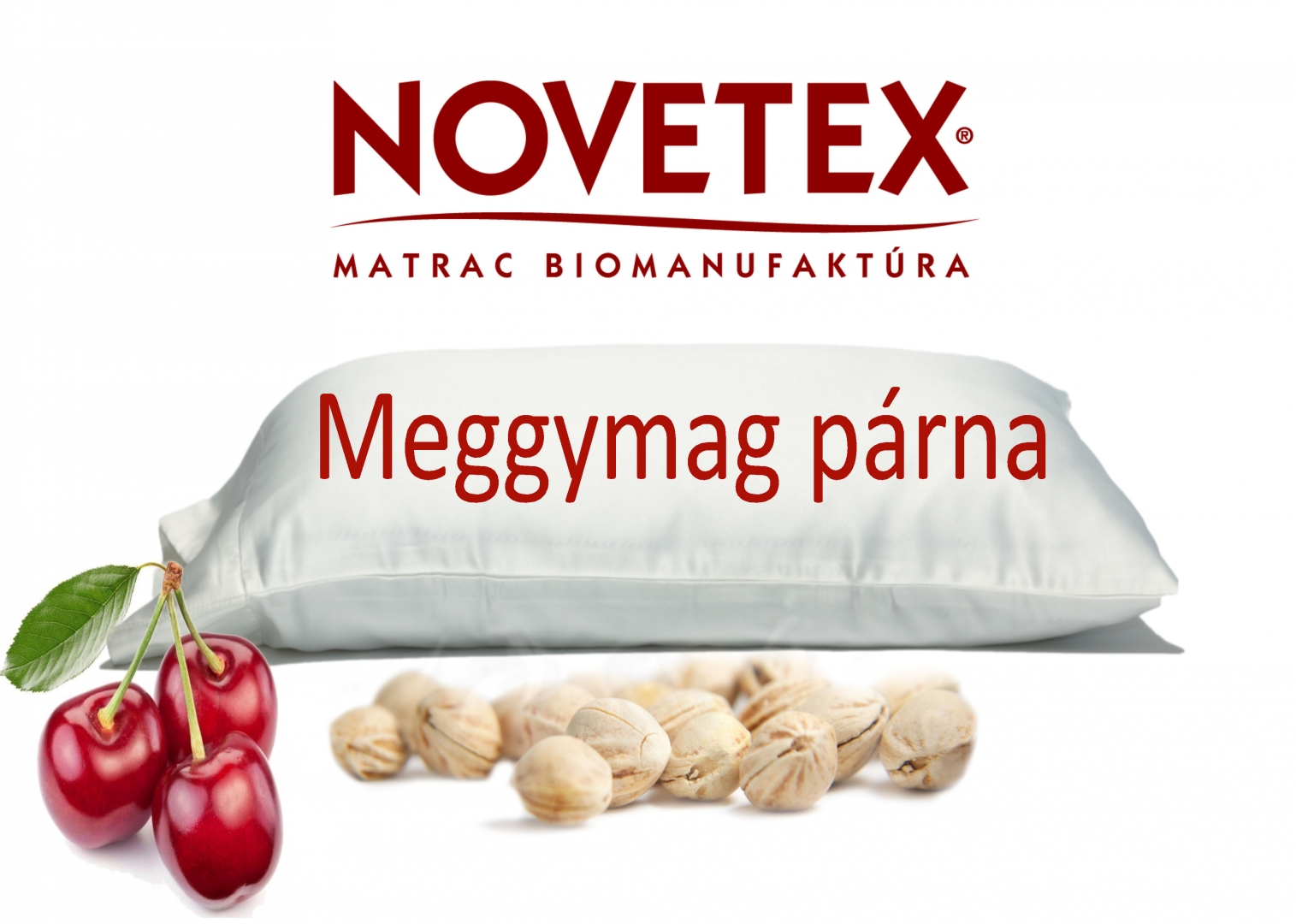 Meggymag párna-Cherry Pit pillow-NOVETEX