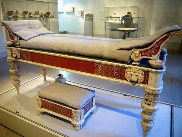 A rómaiak különböző ágytípusokat használtak  0459d0ef3d