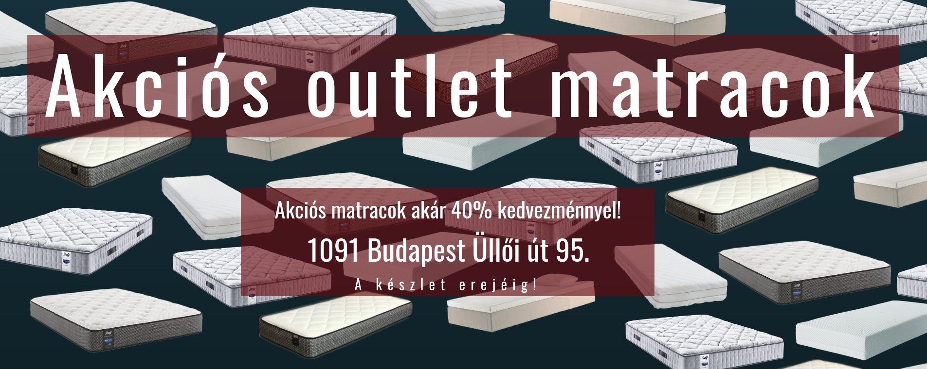 Outlet matrac